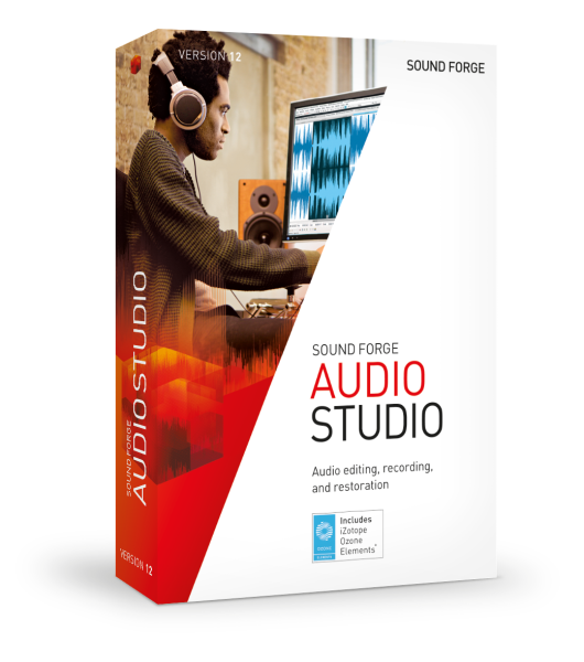Sound Forge AUDIO STUDIO 12